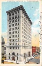 bnk001432 - Steubenville Bank & Trust Co Steubenville, Ohio, USA Postcard Post Card