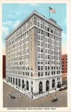 bnk001433 - Exchange National Bank Building Tulsa, Oklahoma, USA Postcard Post Card