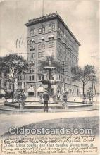 bnk001441 - Dollar Savings & Trust Building Youngstown, Ohio, USA Postcard Post Card