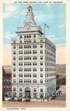 bnk001442 - Home Savings & Loan Co Building Youngstown, Ohio, USA Postcard Post Card