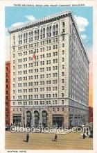 bnk001444 - Third National Bank & Trust Company Building Dayton, Ohio, USA Postcard Post Card