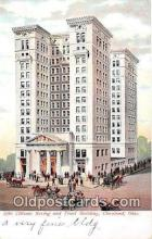 bnk001446 - Citizens Saving & Trust Building Cleveland, Ohio, USA Postcard Post Card