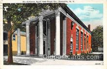 bnk001452 - Citizens Bank & Trust Co Dansville, NY, USA Postcard Post Card