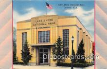 bnk001453 - Lake Shore National Bank Dunkirk, NY, USA Postcard Post Card