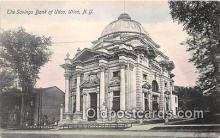 bnk001460 - Savings Bank of Utica Utica, NY, USA Postcard Post Card