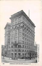 bnk001488 - Onondaga Bank Building Syracuse, NY, USA Postcard Post Card
