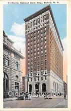 bnk001494 - Marine National Bank Building Buffalo, NY, USA Postcard Post Card