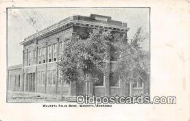 bnk001503 - Wauneta Falls Bank Wauneta, Nebraska, USA Postcard Post Card