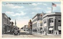 bnk001507 - Main Street Watertown, Wis, USA Postcard Post Card