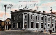bnk001509 - Savings Bank Monroe, Wis, USA Postcard Post Card