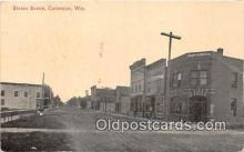 bnk001518 - Street Scene Cameron, Wis, USA Postcard Post Card
