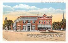 bnk001519 - Bank of Menasha Menasha, Wis, USA Postcard Post Card