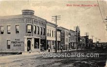 bnk001524 - Main Street Princeton, Wis, USA Postcard Post Card