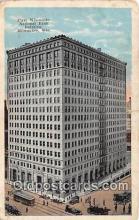 bnk001530 - First Wisconsin National Bank Building Milwaukee, Wis, USA Postcard Post Card
