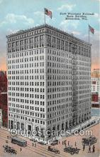 bnk001531 - First Wisconsin National Bank Building Milwaukee, Wis, USA Postcard Post Card