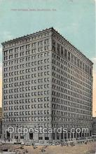bnk001539 - First National Bank Milwaukee, Wis, USA Postcard Post Card