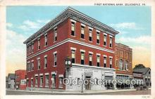 bnk001543 - First National Bank Zelienople, PA, USA Postcard Post Card
