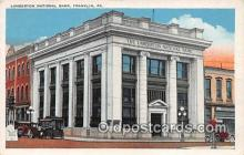bnk001544 - Lamberton National Bank Franklin, PA, USA Postcard Post Card