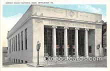 bnk001545 - Lehigh Valley National Bank Bethlehem, PA, USA Postcard Post Card
