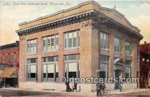 bnk001547 - New First National Bank Building Meadville, PA, USA Postcard Post Card