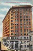 bnk001553 - First National Bank Building Uniontown, PA, USA Postcard Post Card