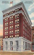 bnk001554 - First National Bank Building Williamsport, PA, USA Postcard Post Card