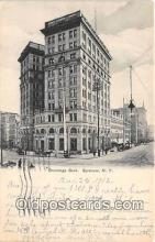 bnk001560 - Onondaga Bank Building Syracuse, NY, USA Postcard Post Card