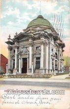bnk001561 - Savings Bank of Utica Utica, NY, USA Postcard Post Card