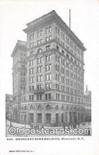 bnk001567 - Onondago Bank Building Syracuse, NY, USA Postcard Post Card