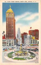 bnk001578 - Court Street, Liberty Bank Buffalo, NY, USA Postcard Post Card