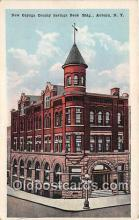 bnk001579 - New Cayuga County Savings Bank Building Auburn, NY, USA Postcard Post Card