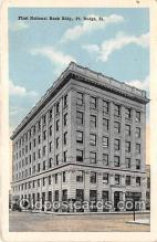 bnk001592 - First National Bank Building Fort Dodge, Iowa, USA Postcard Post Card