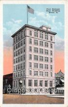 bnk001609 - First National Bank Building Boone, Iowa, USA Postcard Post Card