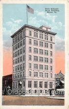 bnk001611 - First National Bank Building Boone, Iowa, USA Postcard Post Card