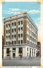 bnk001618 - First National Bank of Grand Island Grand Island, Neb, USA Postcard Post Card
