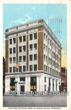 bnk001620 - First National Bank of Grand Island Grand Island, Neb, USA Postcard Post Card