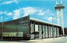 bnk001625 - Financial Federal Savings & Loan Association Miami Beach, Florida, USA Postcard Post Card