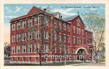 bnk001628 - St Elizabeth Hospital Hannibal, MO, USA Postcard Post Card