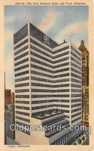 bnk001657 - First National Bank & Trust Company Tulsa, Oklahoma, USA Postcard Post Card