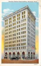 bnk001664 - American National Bank Building Beaumont, Texas, USA Postcard Post Card