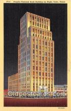 bnk001665 - Peoples National Bank Building Tyler, Texas, USA Postcard Post Card