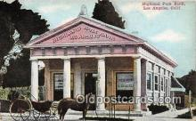 bnk001680 - Highland Park Bank Los Angeles, California, USA Postcard Post Card