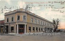 bnk001682 - National Bank Building Visalia, CA, USA Postcard Post Card