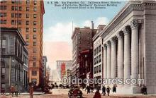 bnk001690 - Bank of California San Francisco, CA, USA Postcard Post Card