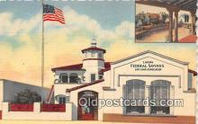 bnk001697 - Laguna Federal Savings & Loan Association Laguna Beach, California, USA Postcard Post Card