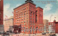 bnk001731 - Omaha National Bank Building Omaha, Neb, USA Postcard Post Card