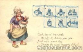 bon001017 - Bonnet, Bonnets, Postcard Post Card
