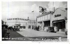 bot001001 - Mexico/USA border Border Town Towns Postcard Post Card
