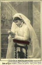 brd001005 - Souvenir De Premiere Communion Brides, Bridal, Wedding, Postcard Post Card