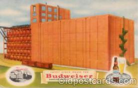bre001006 - Budweiser, Anheuser Busch, St. Louis, Mo. USA Brewery Postcard Post Card